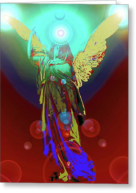 Angel Of Harmony No. 08 Greeting Card by Ramon Labusch