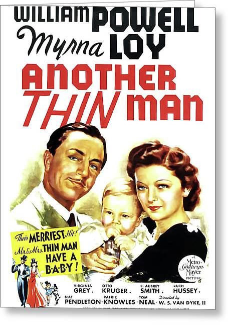 Another Thin Man 1939 Greeting Card