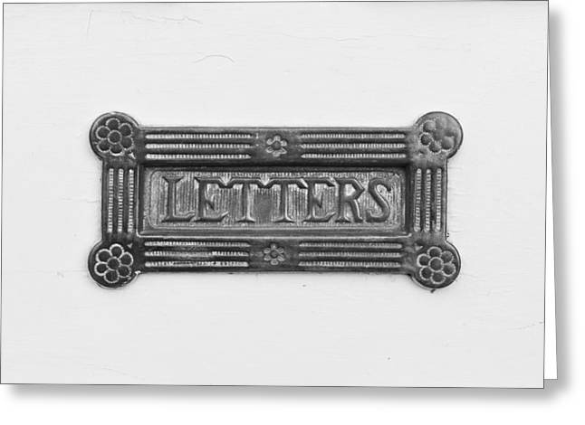 Antique Letterbox Greeting Card