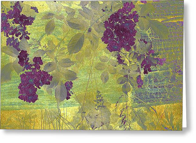 Antiqued Greeting Card by Jessica Jenney