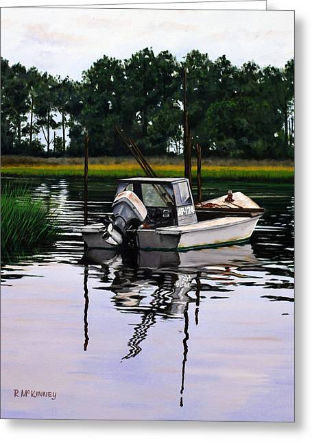 Apalach Greeting Card by Rick McKinney