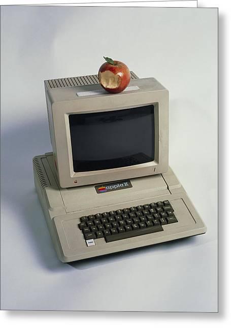 Apple II Computer Greeting Card