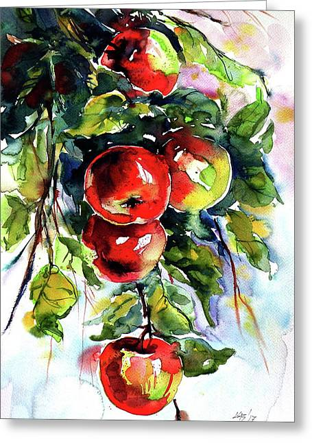 Apples Greeting Card