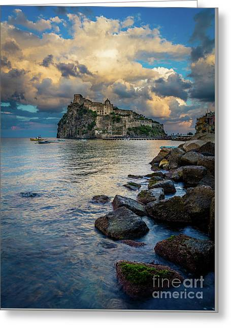 Aragonese Coastline Greeting Card