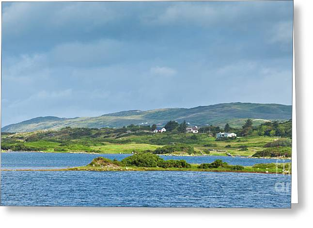 Ardmore Bay Greeting Card by Gabriela Insuratelu
