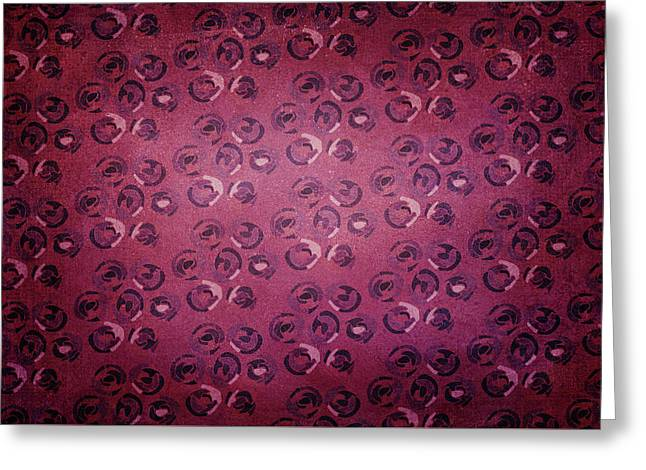 Art Deco Pattern Background Greeting Card
