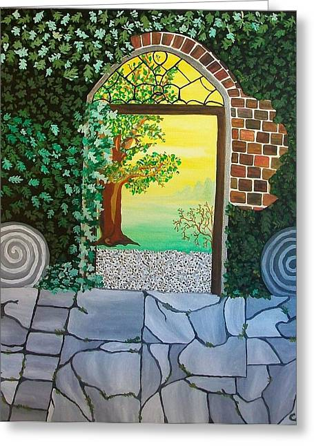 Arthurs Gate Greeting Card