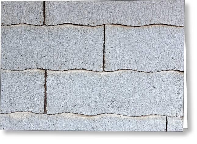 Asbestos Asphalt Composition Shingles Greeting Card