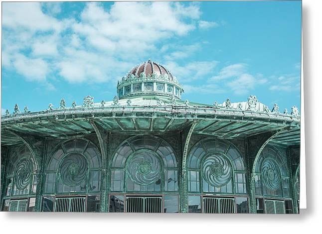 Asbury Park Carousel Greeting Card