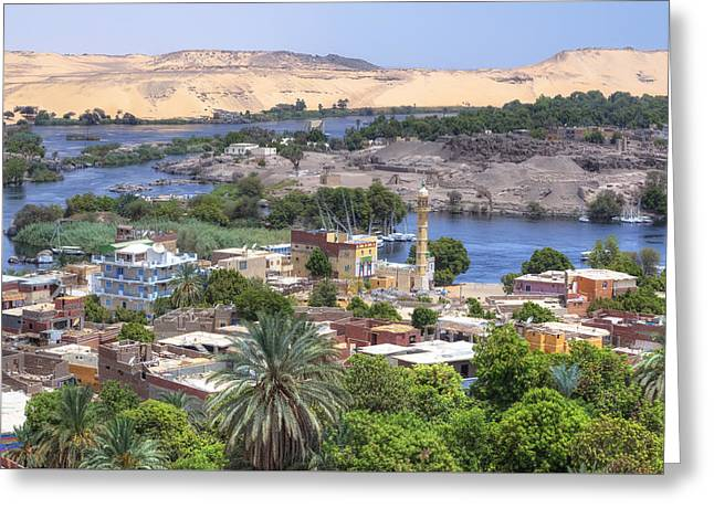 Aswan - Egypt Greeting Card by Joana Kruse