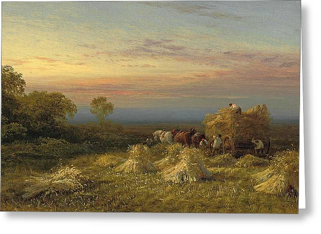 At The End Of The Day Greeting Card by George Cole
