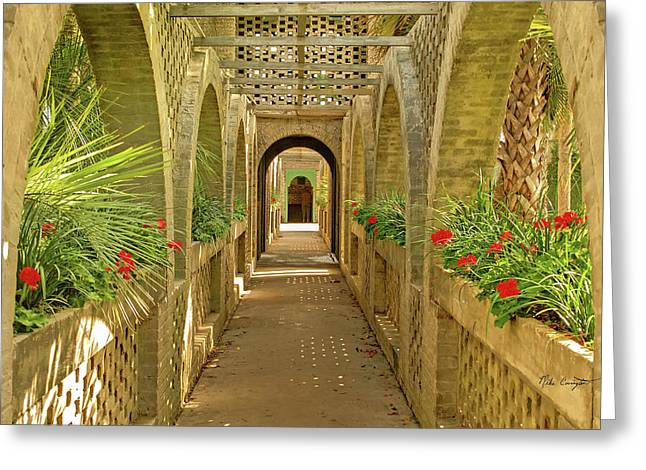 Atalaya Breezeway Greeting Card