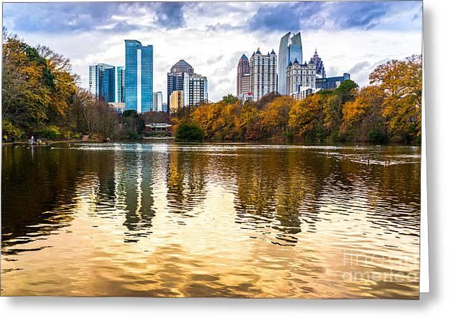 Atlanta - Usa Greeting Card by Luciano Mortula