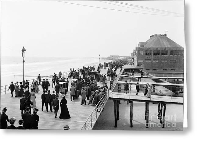 Atlantic City: Boardwalk Greeting Card