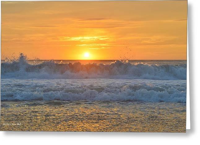 August Sunrise   Greeting Card