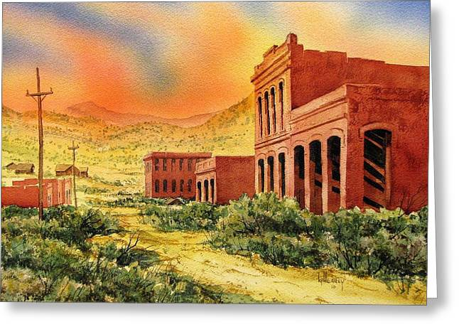 Aurora Ghost Town Nevada Greeting Card by Kevin Heaney