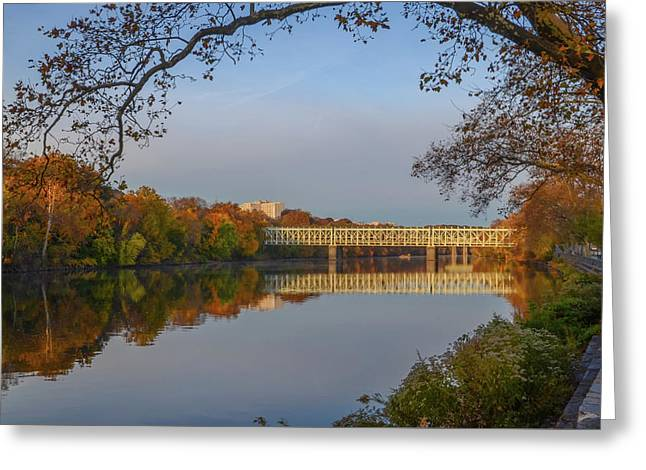Autumn In East Falls Greeting Card by Bill Cannon