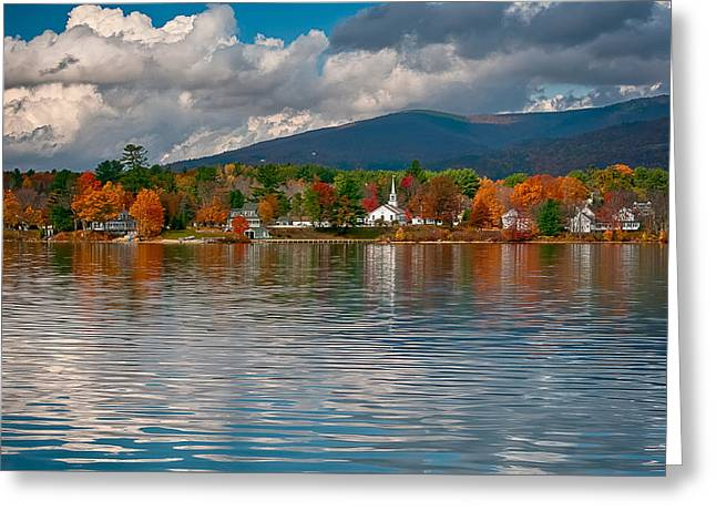 Autumn In Melvin Village Greeting Card