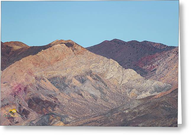 Greeting Card featuring the photograph Avawatz Mountain by Jim Thompson