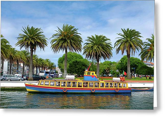 Aveiro Boat Greeting Card