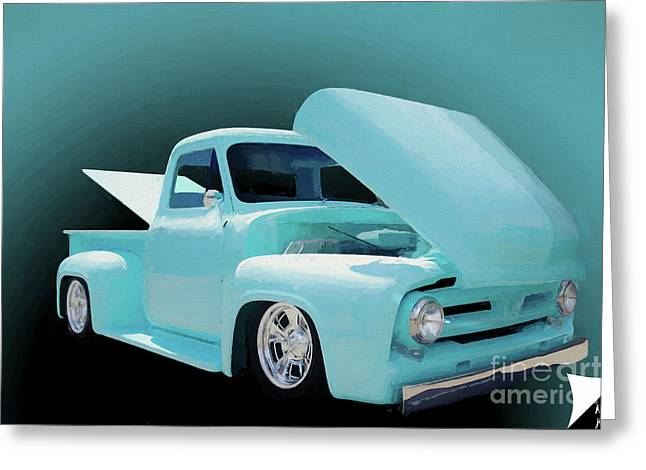 Greeting Card featuring the photograph Baby Blue 2 by Jim  Hatch