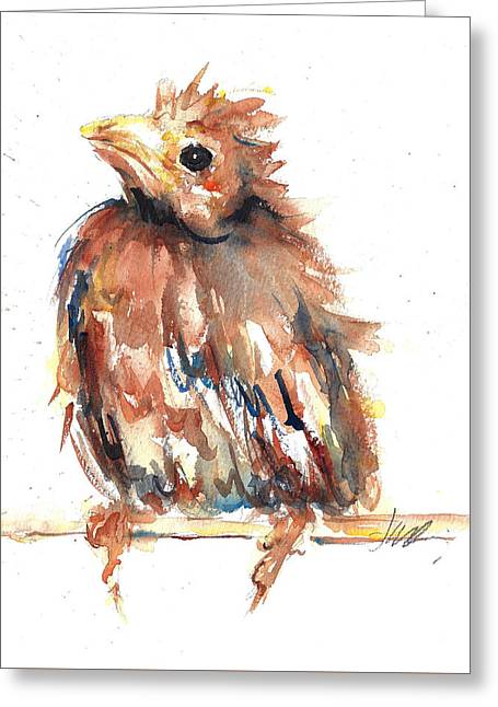 Baby Cardinal - New Beginnings Greeting Card