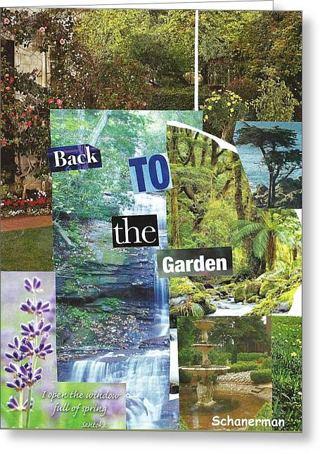 Back To The Garden Greeting Card