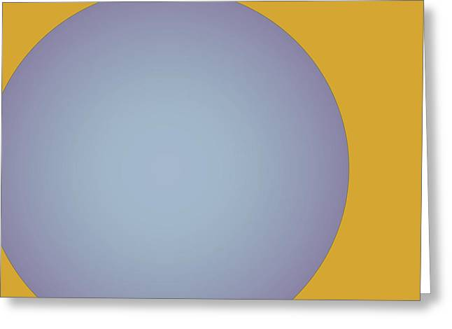 Ball Greeting Card by Contemporary Art