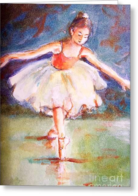 Ballerina 1 Greeting Card by Joyce A Guariglia