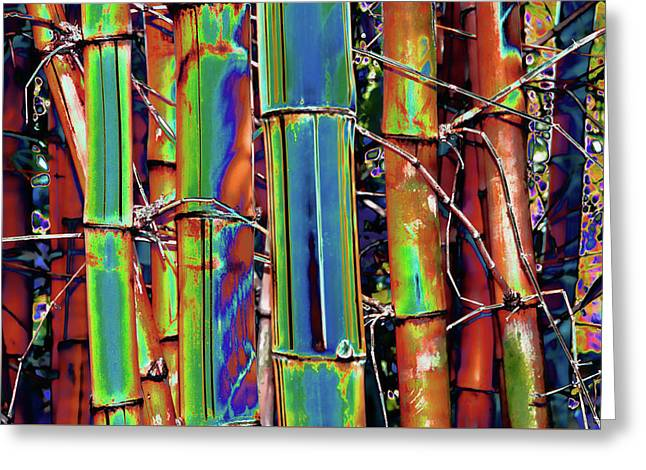 Bamboo 2 Greeting Card