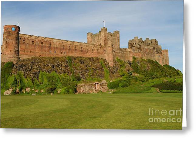 Bamburgh Castle Greeting Card