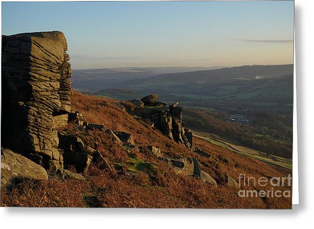Bamford Edge Greeting Card by Nichola Denny