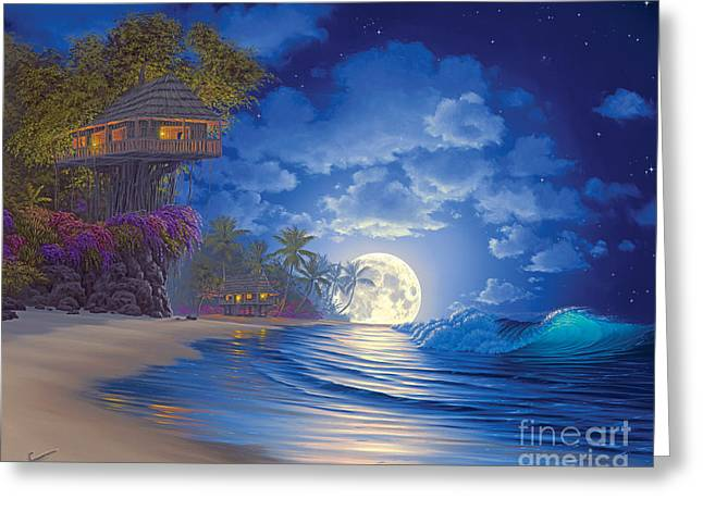 Banyan Moon Greeting Card