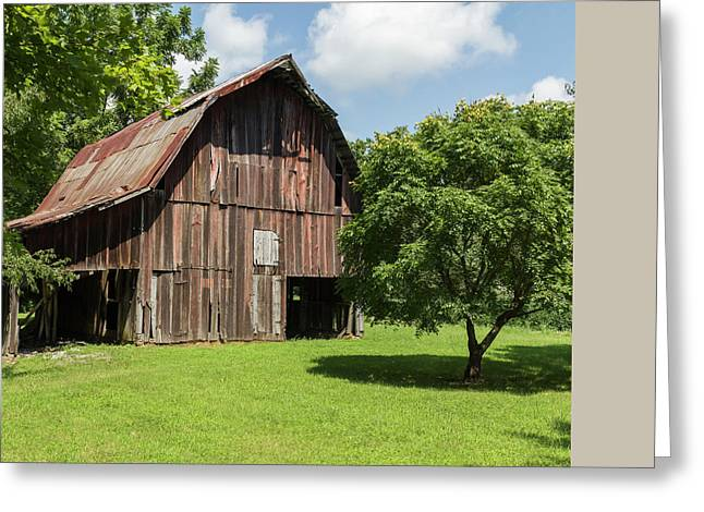 Barn Greeting Card by William Morris