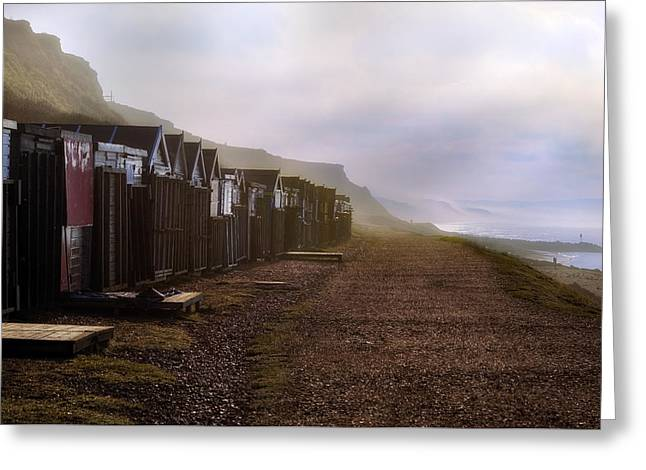 Barton On Sea - England Greeting Card by Joana Kruse
