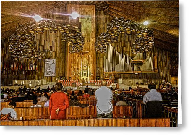 Basilica De Guadalupe 1 Greeting Card
