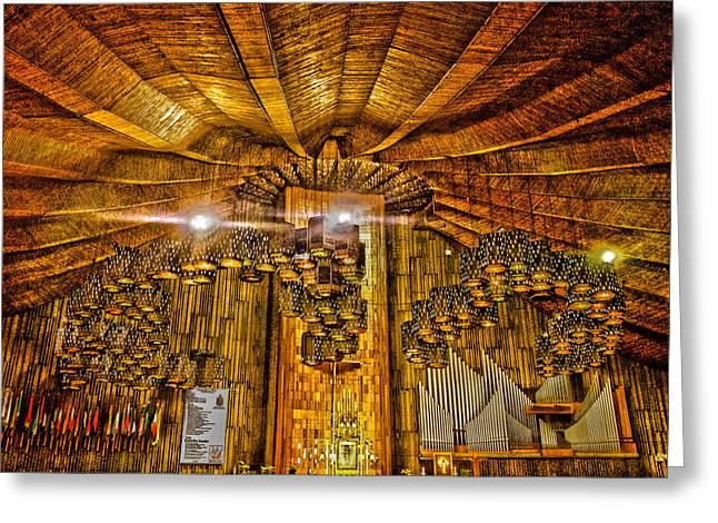 Basilica De Guadalupe 3 Greeting Card
