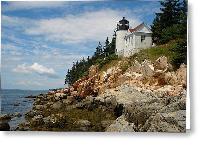 Bass Lighthouse Greeting Card