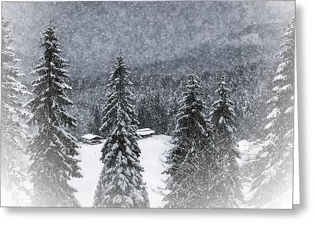 Bavarian Winter's Tale I Greeting Card