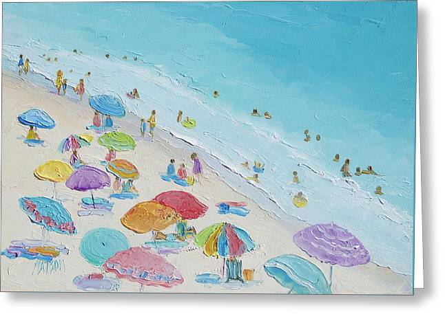 Beach Painting - Summer Love Greeting Card