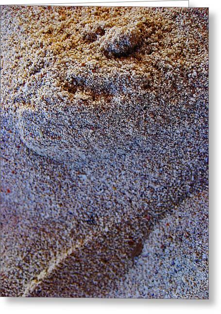 Beach Sand.  Greeting Card by Andy Za