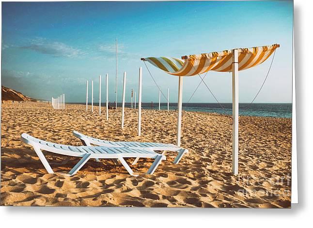 Beach Shader Greeting Card