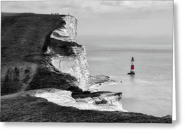 Beachy Head England Greeting Card