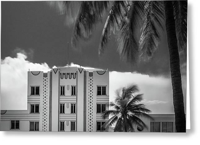 Beacon Hotel Miami Greeting Card