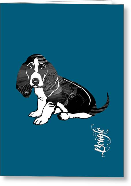 Beagle Collection Greeting Card by Marvin Blaine