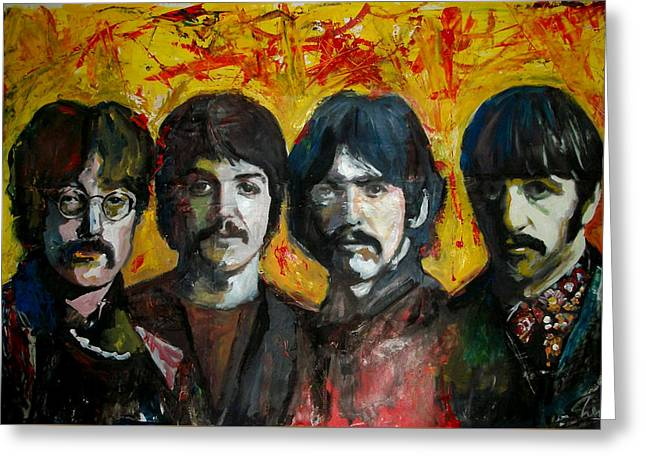 Beatles Greeting Card