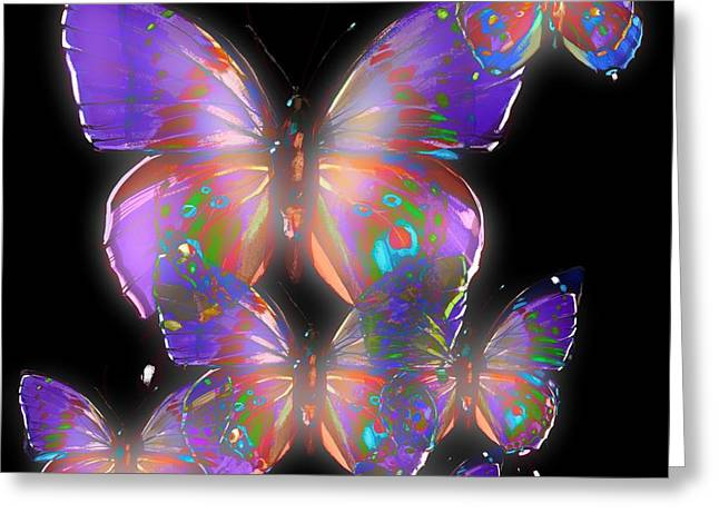 Beauty Of Butterflies Greeting Card