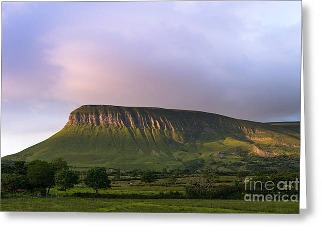Ben Bulben Greeting Card by Andrew  Michael