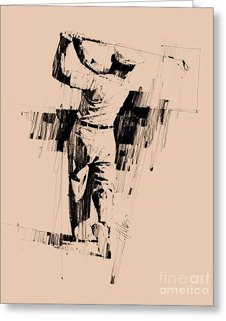 Ben Hogan Greeting Card by David Kilmer