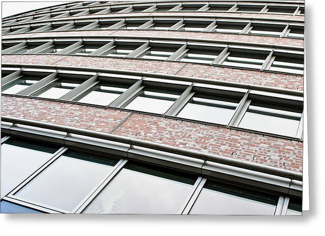 Berlin Building  Greeting Card by Tom Gowanlock